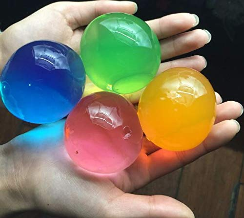 tück große Farben gemischte Differente Wasserperlen Gel Wasserperlen Kristall Terreno Gelatin Perlen für Dekoration Hochzeit Weihnachten Garten Küche Wohnzimmer ()