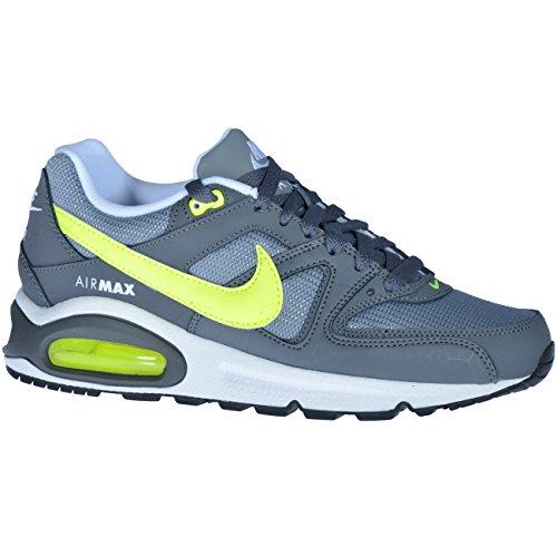 Nike Air Max Command (Gs) 407759 Jungen Laufschuhe Cool Grey/Volt-Dark Grey
