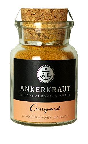 Ankerkraut 'Currywurst', Curry Wurst Topping, 90g im Korkenglas