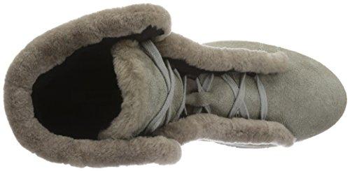 MANAS Damen Antibes Kurzschaft Stiefel Grau (FUMO+FUMO)