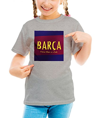 Billion Group | Logo Of Barca | City Collection | Girls Classic Crew Neck T-Shirt