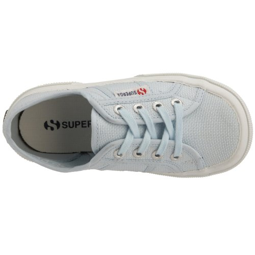 Superga 2750-JCOT CLASSIC S0003C0 Unisex-Kinder Sneaker Türkis (932 Azzurro 515)