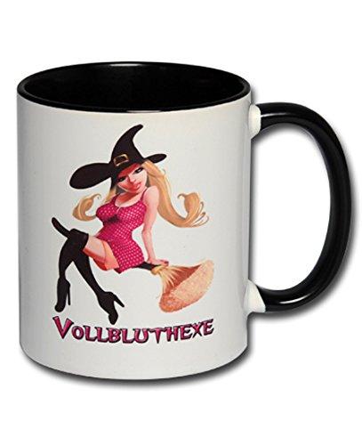 Spruchtasse Funtasse Bürotasse Tasse mit Spruch Hexentasse Kaffeetasse Tasse mit Aufdruck Sexy Hexe (Hexen Sexy)