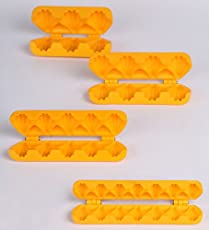 DS Ganpati Modak Plastic Mould Strip Combo
