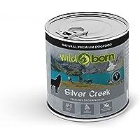 Wildborn Silver Creek Nassfutter mit Ziege 6 x 400 g