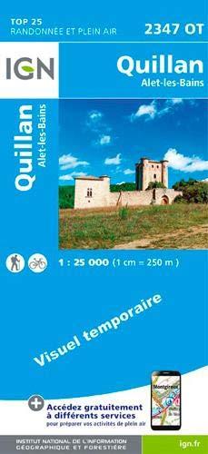 2347OT QUILLAN, ALET-LES-BAINS RECTO par COLLECTIF