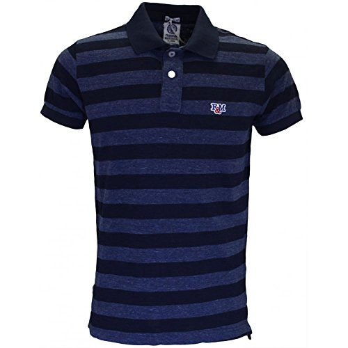 Franklin & Marshall -  Polo  - Uomo Blu melange Medium