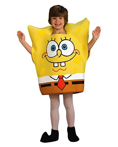 Horror-Shop Original Spongebob Schwammkopf Kinderkostüm Kleinkind
