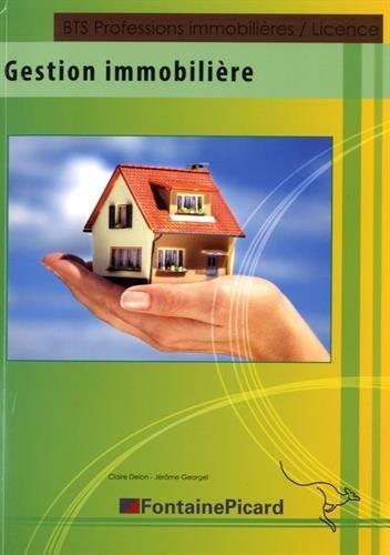 Gestion immobilière BTS Professions immobilières/Licence