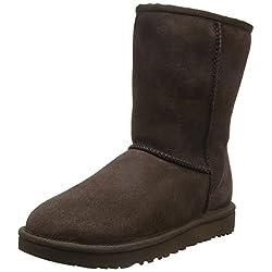 ugg australia women's classic short ii che boots - 41nx7fK2KTL - UGG Classic Short Ii Che, Women's  Short Boots