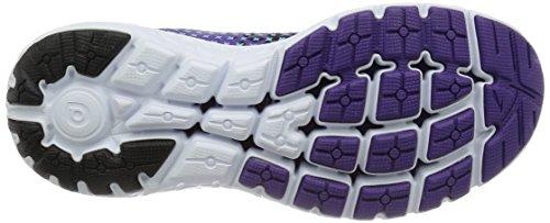 Brooks Damen Pureflow 5 Laufschuhe Mehrfarbig (schwarz/violett/blau)