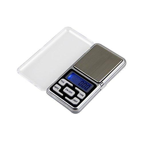 UEETEK Elektrische Küchenwaagen Mini Waagen für Kochen und Backen Lebensmittel (100g / 0,01g)