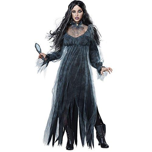 Cosfun Halloween Kostüm Horror Geister Zombie Kostüme Spielbekleidung Vampir Kostüm Demon Kostüme