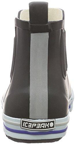 Ice Peak Widald, Bottes en caoutchouc de hauteur moyenne, non doublées femme Noir - Schwarz (990 black)