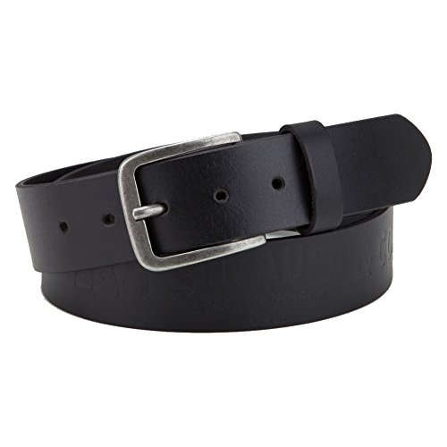 2d08c4331 Levi's® Hombres Accesorios / Cinturón Wasco negro 90 cm