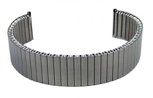 Minott Flexband Zugband Ersatzband Titan Band Titangrau 20mm 19411T (20mm Uhrenarmband Titan)