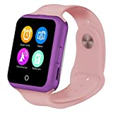 V88 Sport Bluetooth Smart Watches Compatible Android And IOS Dual Systems Valentine 's Day Mother' s Day Father 's Day gift( Color : Pink )