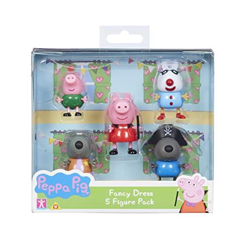 Peppa Pig 06667Fancy Kleid 5-Figure Pack