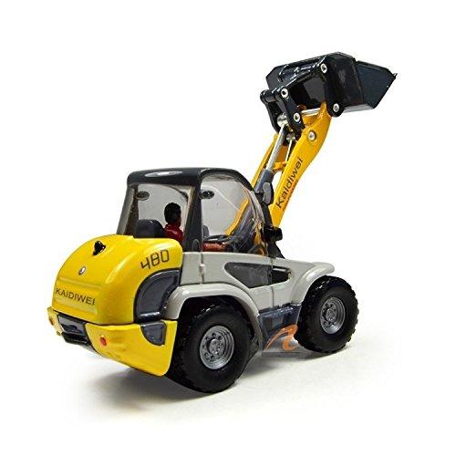 eMart Lega Die-cast Modello Giocattolo Camion Fabbrica di Veicoli Carrello Elevatore a Forca Auto Simulazione Miniatura 1:50 Regalo per I Bambini