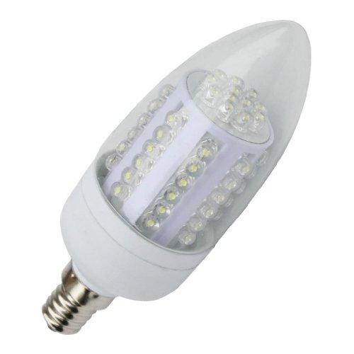 Lumenbest bombilla LED C35vela LED E14Base 240V 60LED Dip 3W 120grados de iluminación interior 260lumen blanco cálido reemplazando 30W halógena Pack de 6