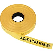 Achtung Hochspannungskabel Kelmaplast Trassen-Warnband 250mtr