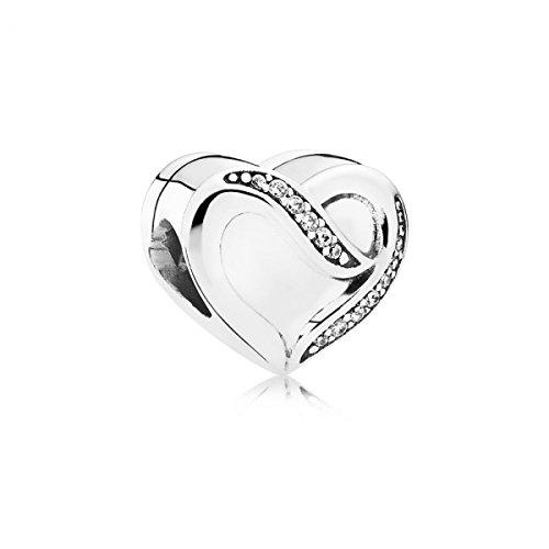 Pandora - amore charm nastro pandora 791816cz