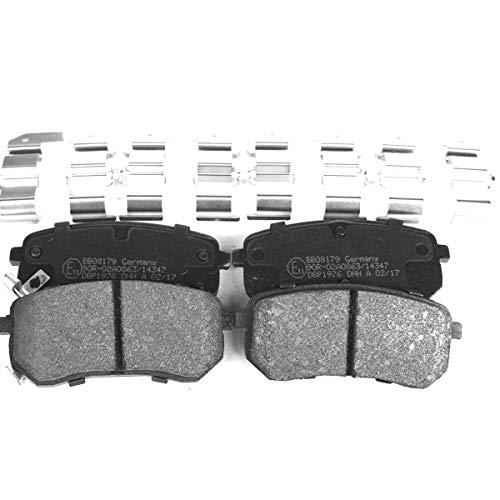 Kit pastiglie freno a disco asse posteriore per i10, Picanto, BB08179