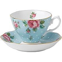 Royal Albert 8705026135 - Conjunto de taza y platillo