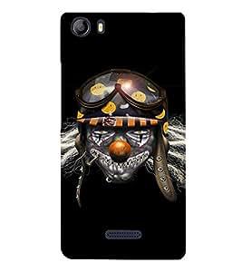 EPICCASE Skully Pilot Mobile Back Case Cover For Micromax Canvas 5 E481 (Designer Case)