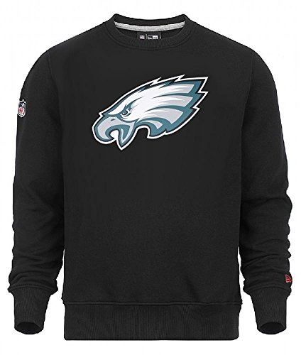 New Era NFL PHILADELPHIA EAGLES Team Logo Crew Sweatshirt, Größe:XXL (Sweatshirt Eagle American Hoodie)