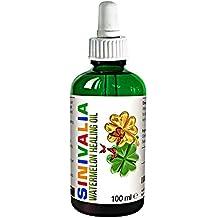 Olio curativo ai semi di cocomero - Olio viso e corpo | Idratante per pelle secca o grassa | Prodotto antirughe per la cura della pelle | Olio di base con proprietà anti-age | 100 ml.