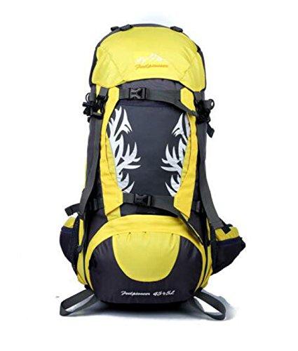 Outdoor Sport Bergsteigen Tasche Reisen Tasche Wasserdicht Schulter Tasche Yellow