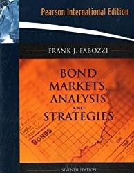 Bond Markets, Analysis, and Strategies by Frank J. Fabozzi (2009-01-02)