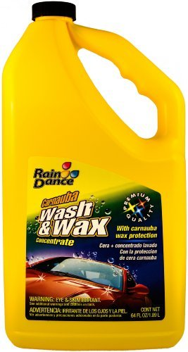 Price comparison product image Rain Dance 2664 Wash and Wax with Carnauba - 64 oz. by Raindance