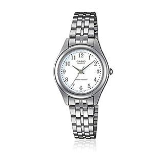 Casio Reloj Analógico para Mujer de Cuarzo con Correa en Acero Inoxidable LTP-1129PA-7BEF