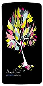 Timpax Hard Back Case Cover Printed Design : A tree in a forest.For LG-G-4