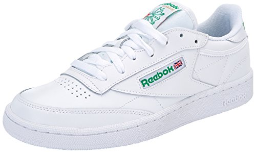 Reebok Herren Club C 85 Sneakers, Elfenbein (Int-white/green), 42 EU