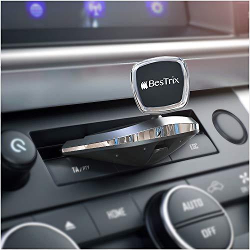 Bestrix Universal CD Slot Magnetic Smartphone Car Mount Holder for iPhone 7 6 6S Plus 5S 5C 5 4S 4 Samsung Galaxy S2 S3 S4 S5 S6 S7 Edge Plus Note 2 3 4 5 LG G2 G3 G4 G5 All Smartphones