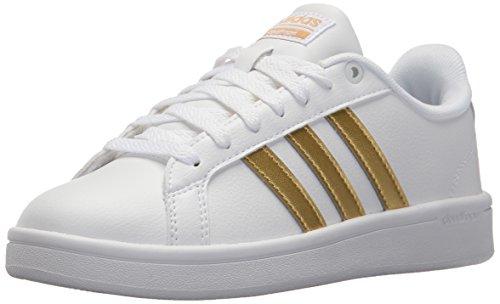 low cost e2bb0 8e42c adidasCG5884 - Cf Advantage W Damen, Weiá (FTWR White, Matte Gold, Core  Black), 40 B(M) EU