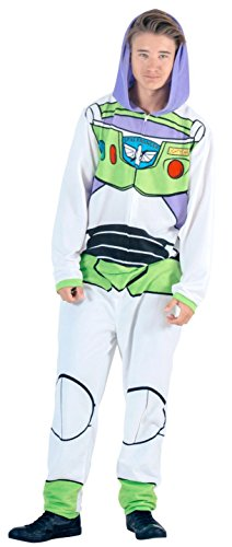 year Union Suit Costume Pajama (Adult Medium) (Toy Story Halloween Cartoon)