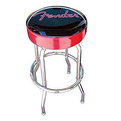 Fender Barstool, 24-Inch, Black/Red - cheap UK light shop.