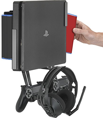GamingXtra 4-in-1 Bundle Kit für Sony PS4 - Schwarz -