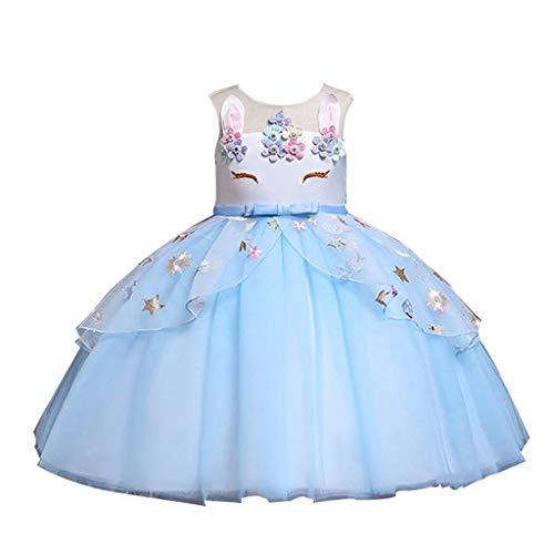 Masoness Mode Kleinkind Kinder Baby Mädchen Schöne Blume Kaninchen Sleeveless Tüllrock Prom Party Prinzessin Kleider