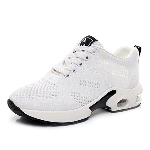 Wealsex Laufschuhe damen Freizeit sneakers Weiß
