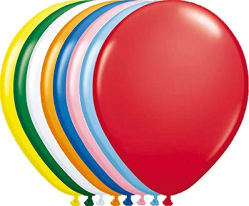 Bunte einfarbige Luftballons - 1...
