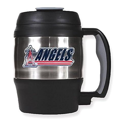 IceCarats Mlb Anaheim Angels 52oz Macho Travel Mug Hostes Household Entertaining Food Drink Licensed Beverage Holder