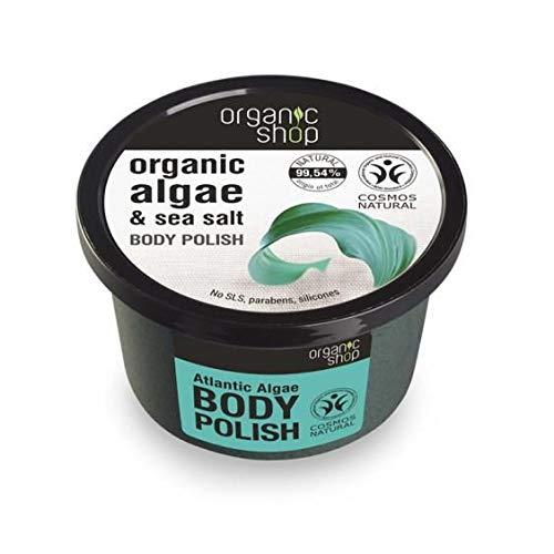 Exfoliante Corporal Algas Atlántico Organic Shop