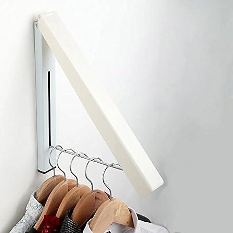 Artis klappbarer Edelstahl-Wandkleiderbügelhalter für den Innen- und