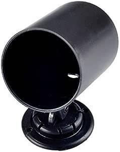 E Support Schwarz 2 52mm Universal Halter Gauge Halterung Bracket Instrumentenhalter Auto