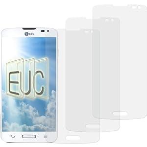 3 x Displayschutzfolie klar/wie unsichtbar für LG Optimus L90